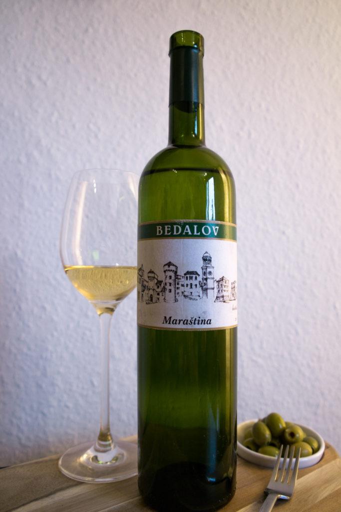 Bedalov Marastina bijelo vino