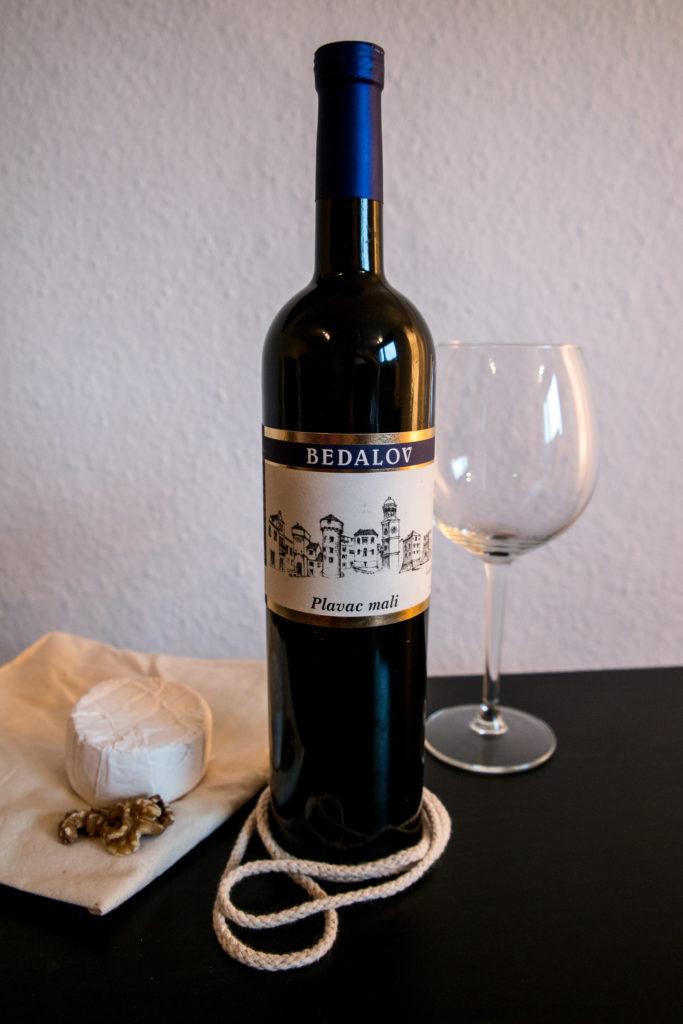 Plavac mali Bedalov wine