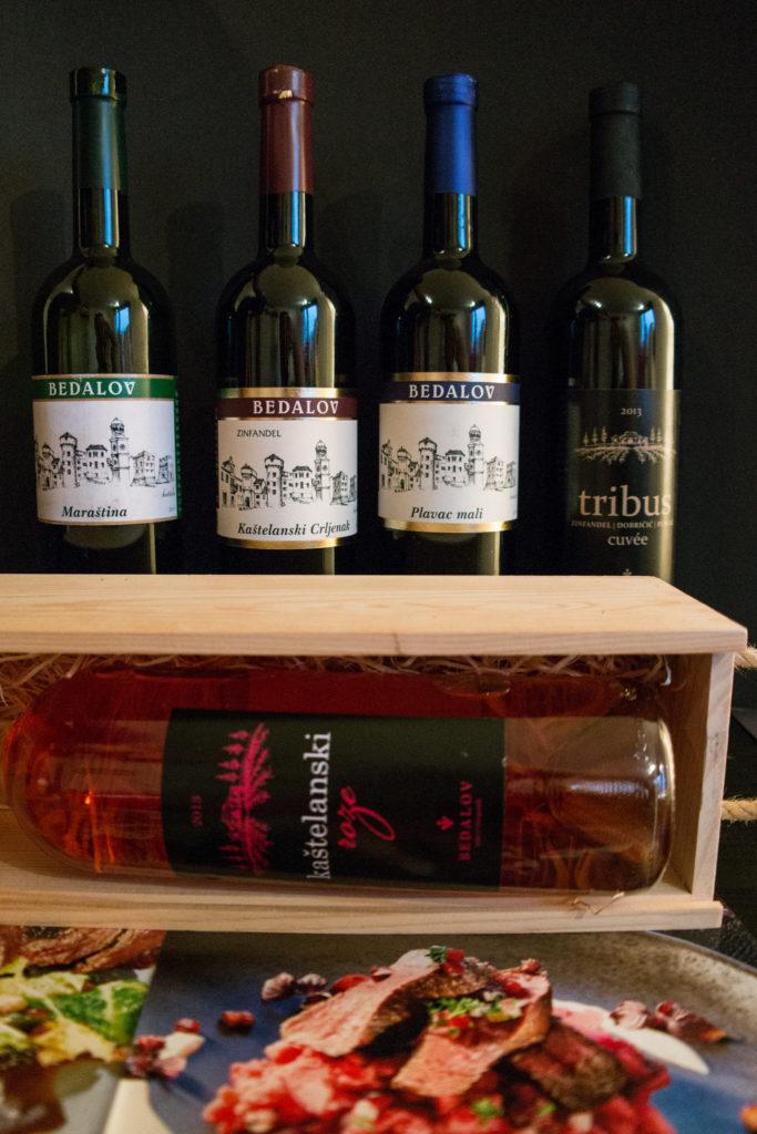 wines of winery Bedalov